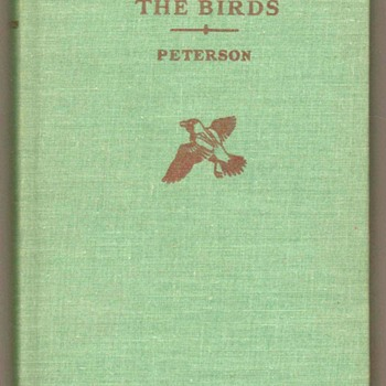 1962 - Field Guide To The Birds - Books