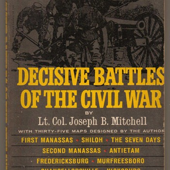 1955 - Decisive Battles of the Civil War - Books