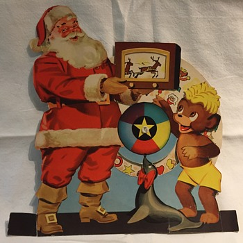 The T. EATON Co. Limited, Winnipeg Punkinhead with Santa Claus
