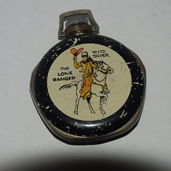 1939 New Haven Lone Ranger Pocket Watch #2