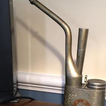 Vintage Opium Water Pipe