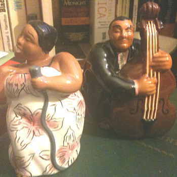 All that jazz...salt and pepper shakers - Kitchen