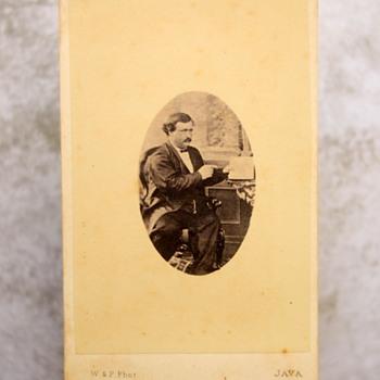 Rueben Cousins C, 1860 Carte De Visite - Photographs