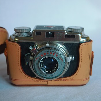 1950's Bolsey B2 35mm Rangefinder Camera