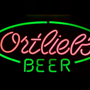 Ortlieb's Beer neon - Signs