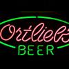 Ortlieb's Beer neon
