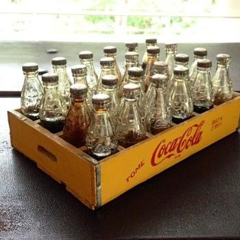 Botellas miniatura de Coca Cola - Coca-Cola