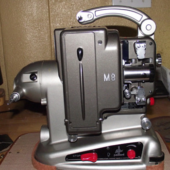 Bolex M8 8mm Movie Projector 1957 - Cameras