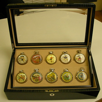 Pocket Watch Storage Box