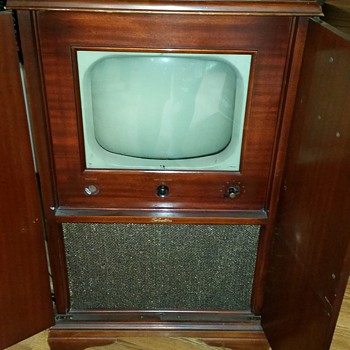 1951 Silvertone Television Set Worth???
