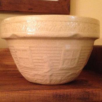 small yellowware bowl