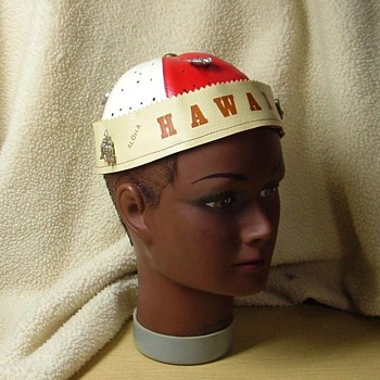 vintage souvenir of hawaii - Hats