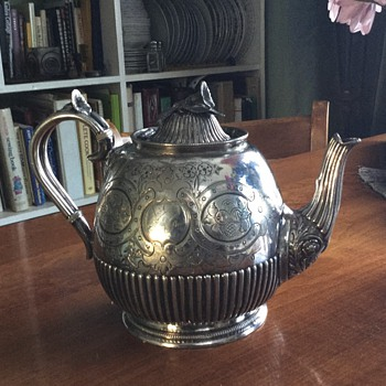 James Dixion & Sons stunning teapot - Sterling Silver