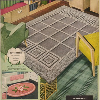 1950 Callaway Rugs Advertisements