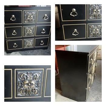 HELP ID Mid Century Black Dresser - DRAPER ?