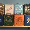 some of my vintage petrol cans