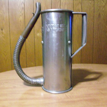 Canco oil can