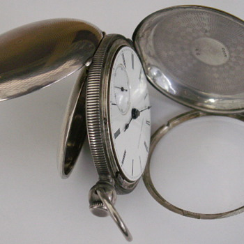 1867 Presetation Watch, National Watch Co. (Elgin) - Pocket Watches