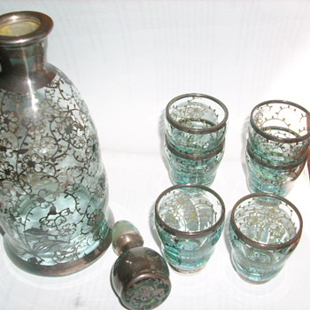 Liquer decanter set?