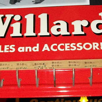 Willard battery cable rack - Petroliana