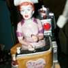 I LOVE LUCY  CERAMIC FIGURINE