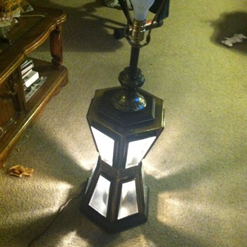 A lamp I just bought. Real cool but what kind of lamp?