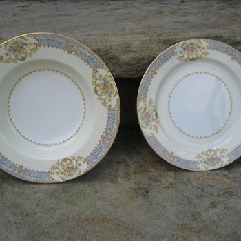 "Noritake China ""Made in Occupied Japan"""