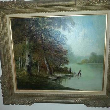Oil paintings m. Bernard - Visual Art