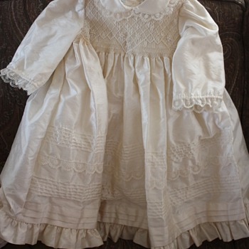 CHILD&#039;S ALL SILK DRESS