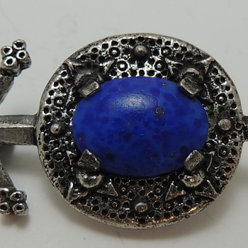 Scottish Pebble Revival Brooch - MIRACLE