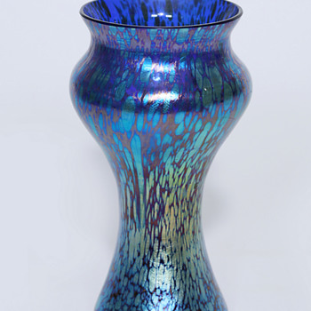 Loetz in Blue - Art Glass