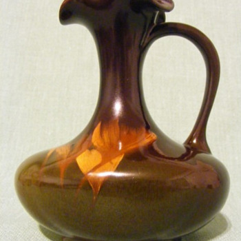 Restored Rookwood Ewer - Arts and Crafts