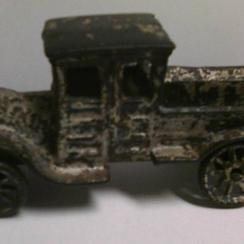 Can you identify this antique toy truck?