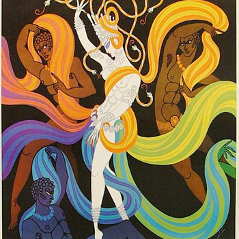 ERTE   Lyric Opera Original 1968 Poster - 42 years old!    - Posters and Prints