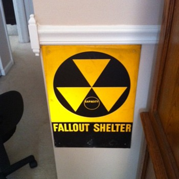 Nuclear Fall Out Sign - Advertising