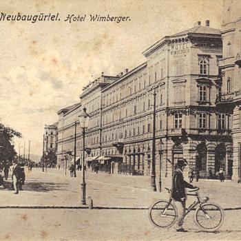 Hotel Wimberger Vienna, Austria - Postcards