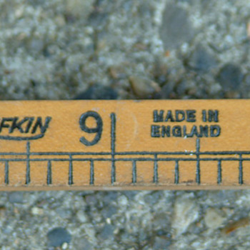 Lufkin folding ruler no 651,boxwood made in England 1920s
