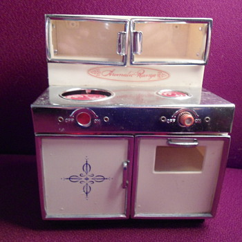 1960's Toy Stove - Kitchen