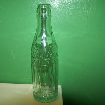 Old Pepsi Bottle that i found on a yard sale!! - Bottles