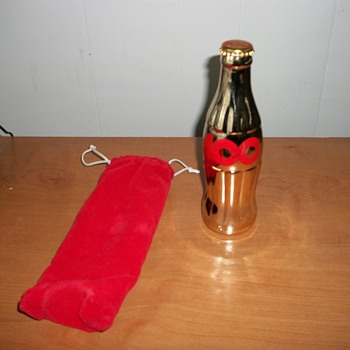 Coca-Cola 100 Celebration glass bottle - Coca-Cola