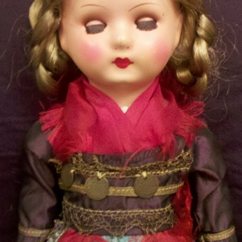 This is what I call my &quot;Gypsy&quot; doll. - Dolls