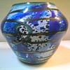 "Ed Francis  5"" Art Glass Vase /Circa 1993"