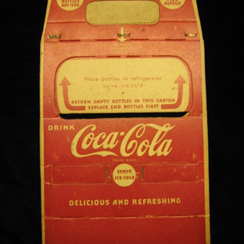 Coca-Cola Carboard Carrier - Coca-Cola