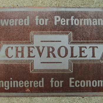 Chevy Sign - Signs