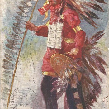 Native American Postcards 1905 to 1907 - Postcards