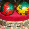 Cloisonne health balls from thrift store  $5.00