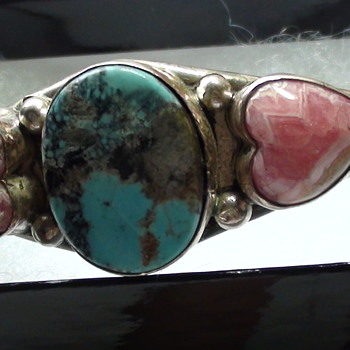 ED KEE BRACELET NOT KNOW AGE or tribe Possible Navajo?? - Fine Jewelry