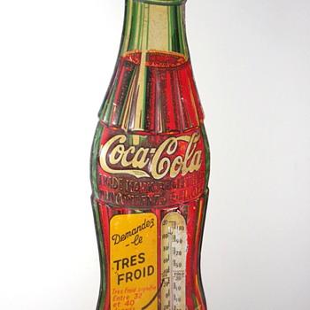 1929 Coca-Cola Thermometer