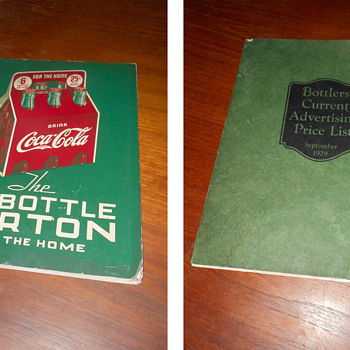 More close up photos of vintage paper items from my collections... - Coca-Cola