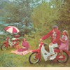 "1962 Honda ""50"" Motorcycle Brochure"